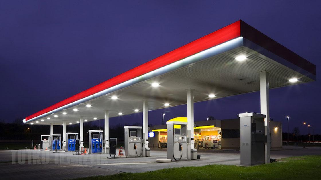 Benzin İstasyonu Temizlik